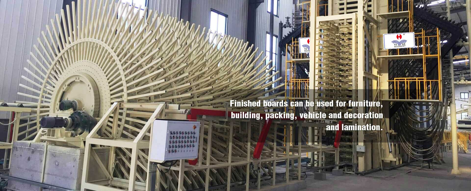 PP Film Faced Plywood Board Making Machine