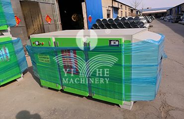 Light oxygen removal equipment for plywood hot press machine