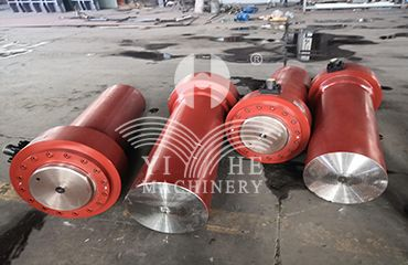 Solid hot platens, oil cylinders, hydraulic station system for hydraulic press machine