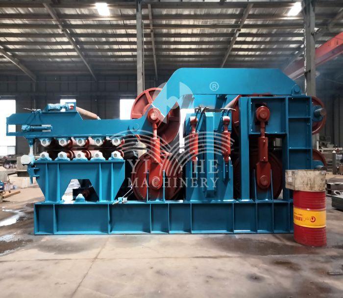 Particle board production line continuous prepress machine