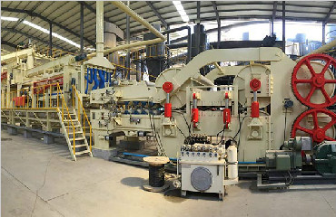 yihe machinery particle board production line