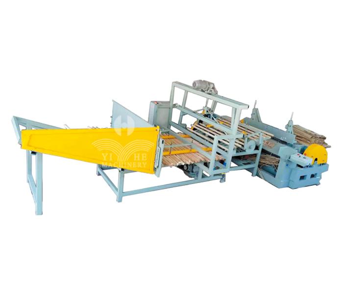 Small Wood Log Core Automatic Peeling Line