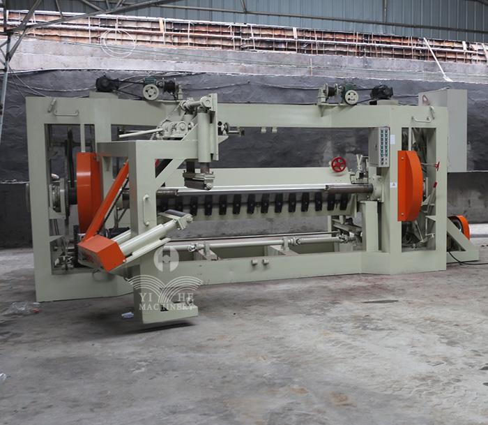 8FT Vertical Spindle Veneer Peeling Machine